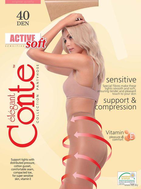 "Колготки женские корректирующие ""Conte. Active Soft 40"" — фото, картинка"
