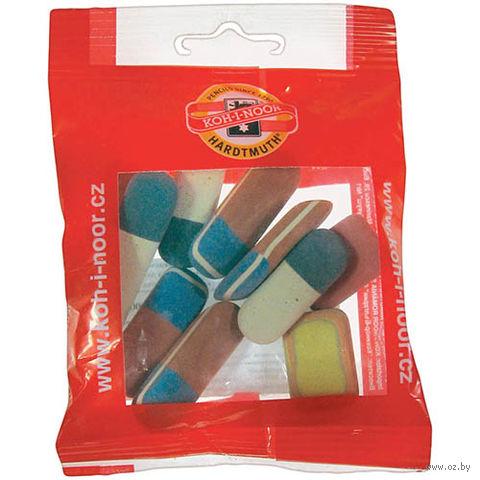 """Набор ластиков """"6510"""" в пакете (10 шт; цвет: ассорти)"""