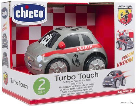 """Машинка инерционная """"Fiat turbo-touch 500"""" (серая) — фото, картинка"""