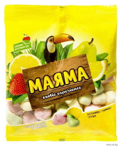 "Мармелад ""Маяма"" (170 г; клубника, лимон и груша) — фото, картинка"