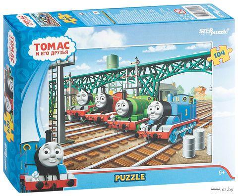 """Пазл """"Томас и его друзья"""" (104 элемента) — фото, картинка"""