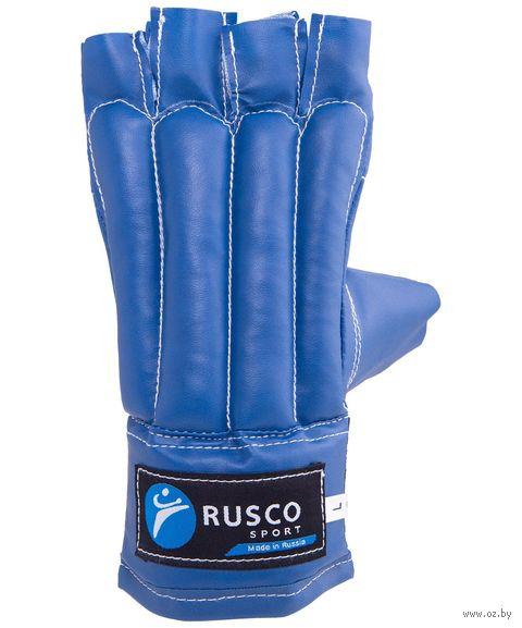 Перчатки снарядные (М; шингарды; синие) — фото, картинка