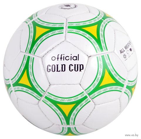 """Мяч футбольный """"Gold cup"""" (арт. Т53103) — фото, картинка"""