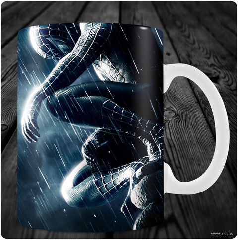 "Кружка ""Человек-паук"" (арт. 12) — фото, картинка"