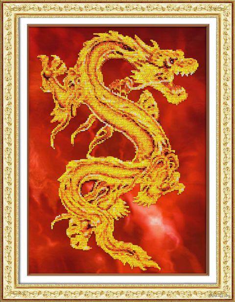 """Вышивка бисером """"Восточный дракон"""""""