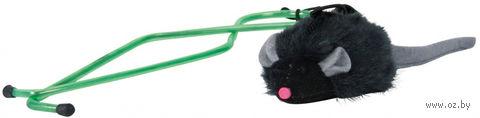 """Дразнилка для кошек на дверной проем """"Мышка"""" (135 см) — фото, картинка"""