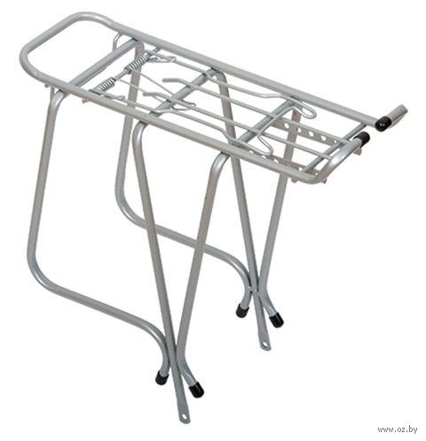 """Багажник для велосипеда """"BR-URW3"""" (26""""; серебристый) — фото, картинка"""