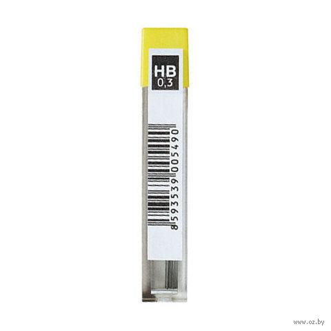 Стержни для автоматического карандаша 4132/HB (твердость: HB; 0,3 мм; 12 шт)