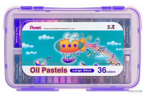 """Пастель масляная в боксе """"Oil Pastels"""" (36 цветов)"""