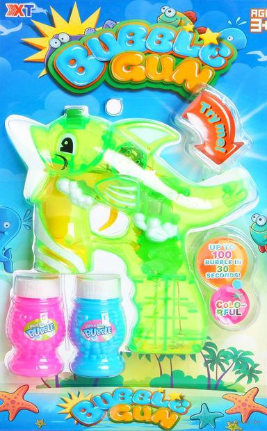 """Игрушка для выдувания мыльных пузырей """"Дельфинчик"""""""