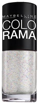"""Лак для ногтей """"Colorama"""" (тон 47, серебряные кристаллы; 7 мл)"""