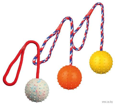 """Игрушка для собаки """"Мячик на веревке"""" (30 см; арт. 3308)"""