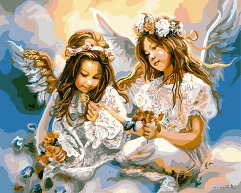 """Картина по номерам """"Два ангела"""" (400х500 мм; арт. PC4050129) — фото, картинка"""