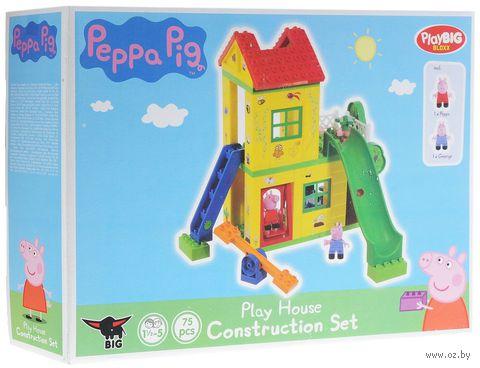 """Конструктор """"Peppa Pig. Игровая площадка"""" (75 деталей) — фото, картинка"""