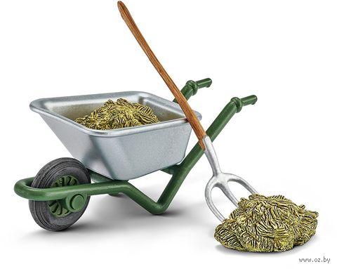 "Набор фигурок ""Набор для чистки конюшни на ферме"" — фото, картинка"