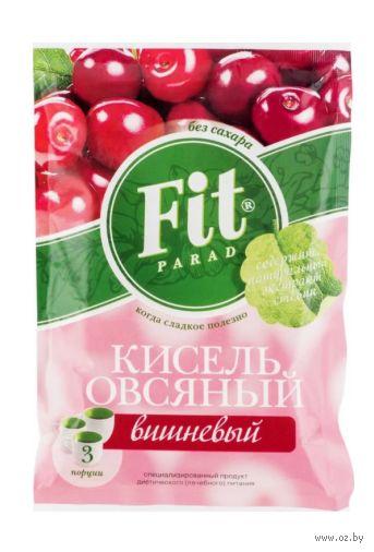 """Кисель овсяный """"Fit Parad. Вишневый"""" (50 г) — фото, картинка"""