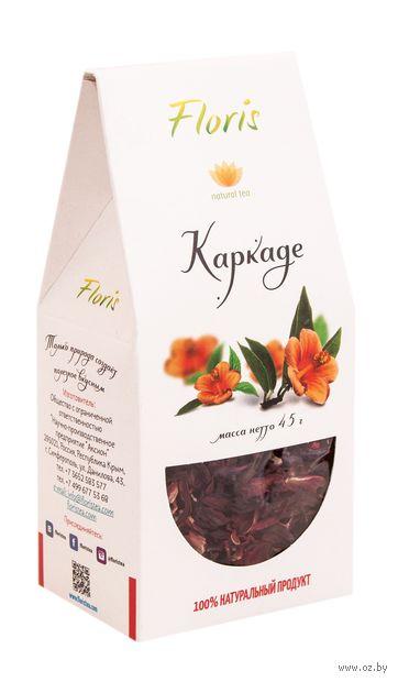 """Чай красный листовой """"Floris. Каркаде"""" (45 г) — фото, картинка"""