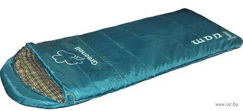 """Спальный мешок """"Туам"""" (левый; зелёный) — фото, картинка"""