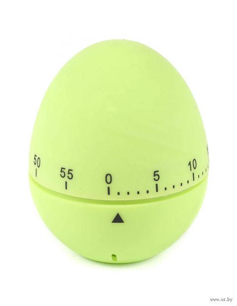 """Таймер кухонный пластмассовый """"Яйцо"""" (59х72 мм; арт. 4440010)"""