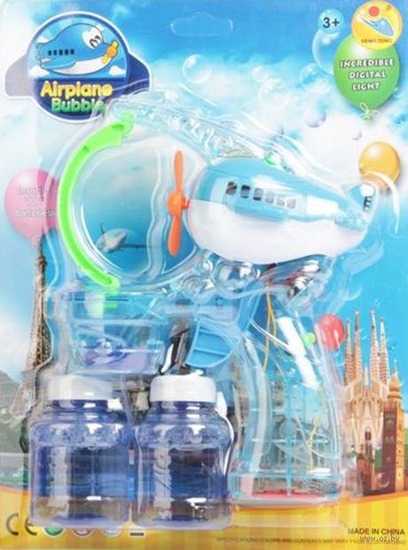 """Игрушка для выдувания мыльных пузырей """"Самолет"""""""