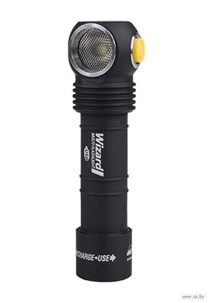 Фонарь Armytek Wizard Magnet USB XP-L (тёплый свет) — фото, картинка