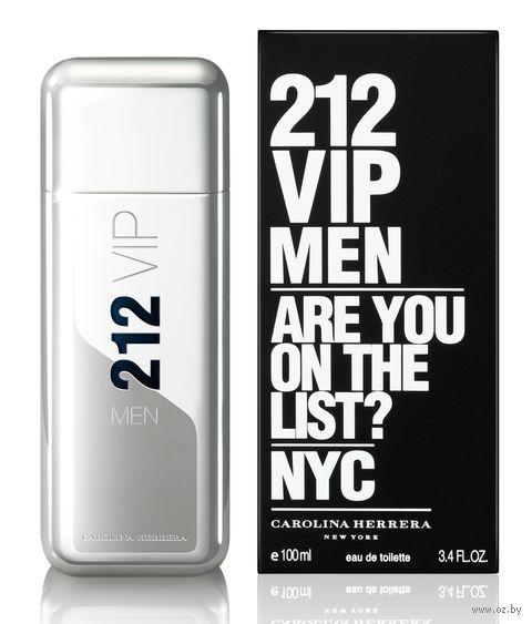 "Туалетная вода для мужчин Carolina Herrera ""212 VIP"" (100 мл) — фото, картинка"