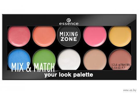 """Палетка для макияжа """"Mix and Match Your Look"""" (тон: 10) — фото, картинка"""