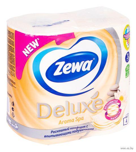 "Туалетная бумага Zewa Deluxe ""Aroma Spa"" (4 рулона)"