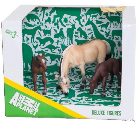 """Набор фигурок """"Animal Planet: Лошади"""" (3 шт.)"""