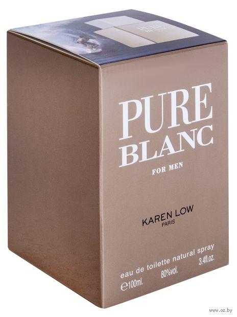 "Туалетная вода для мужчин ""Pure Blanc for Men"" (100 мл) — фото, картинка"
