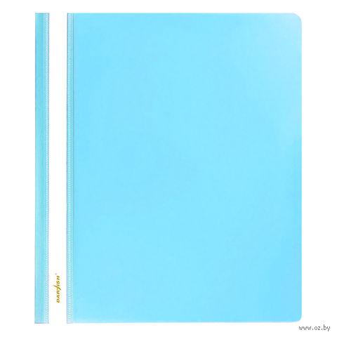 """Папка-скоросшиватель """"Darvish"""" (А5; голубая; арт. DV-205) — фото, картинка"""