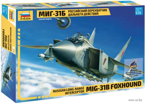 """Сборная модель """"Российский перехватчик дальнего действия МиГ-31Б"""" (масштаб: 1/72) — фото, картинка"""