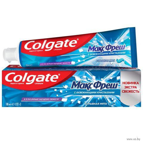 "Зубная пастa ""Max Fresh. Взрывная мята"" (100 мл) — фото, картинка"