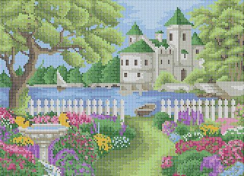 """Алмазная вышивка-мозаика """"Прекрасное лето"""" (500х360 мм) — фото, картинка"""