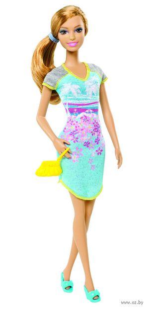 """Кукла """"Барби. На пижамной вечеринке"""" (арт. BHV08)"""