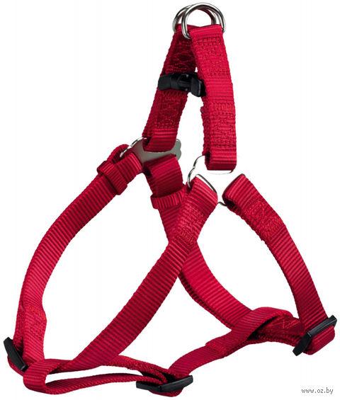 """Шлея для собак """"Premium Harness"""" (размер M; 50-65 см; красный)"""