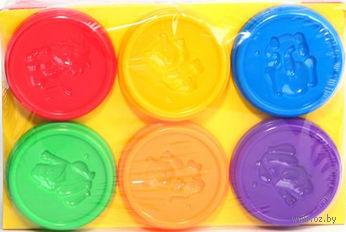 "Пластилин ""Kid's Dough"" (6 цветов)"