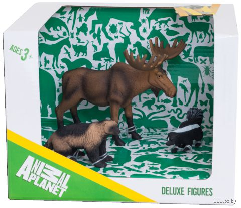 """Набор фигурок """"Animal Planet: Лесные животные"""" (3 шт.)"""
