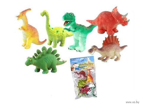 """Набор фигурок """"Динозавры"""" (6 шт; арт. P2612-6)"""