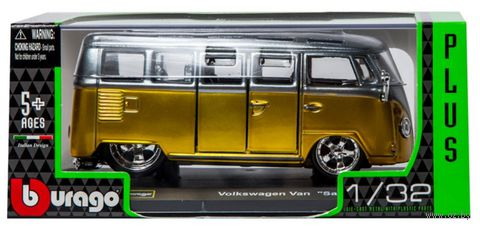 "Модель машины ""Bburago. Volkswagen Samba Van"" (масштаб: 1/32) — фото, картинка"