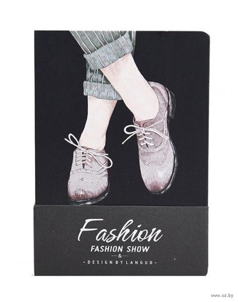 """Блокнот """"Fashion Show. Ботинки"""" (A6) — фото, картинка"""