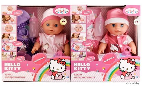 "Интерактивный пупс ""Hello Kitty"" (арт. Y30-DP-OTF-RU-HK) — фото, картинка"