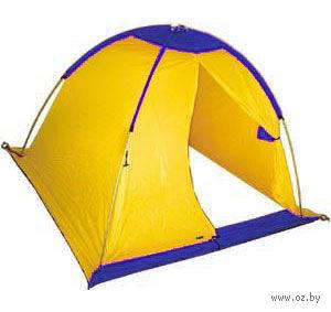 Палатка рыбака (желто-синий)