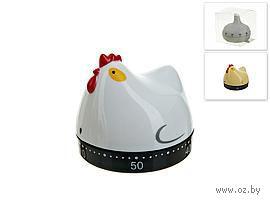 "Таймер кухонный пластмассовый ""Курица"" (6,1*5,6 см, арт. 4440009)"