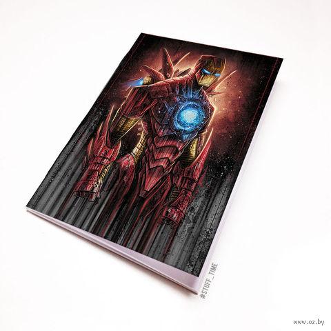"""Блокнот """"Железный человек"""" (А5; арт. 917) — фото, картинка"""
