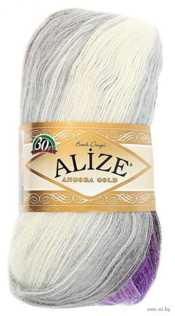 ALIZE. Angora Gold Batik №4306 (100 г; 550 м) — фото, картинка