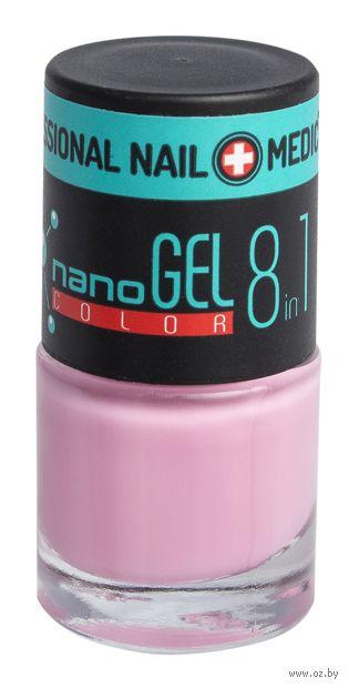 """Лак для ногтей """"Nano Gel Color"""" (тон: 25, лилово-розовый) — фото, картинка"""