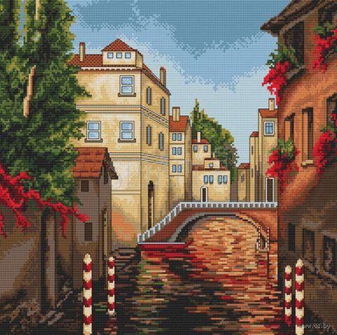 "Вышивка крестом ""Венеция"" (285х285 мм) — фото, картинка"