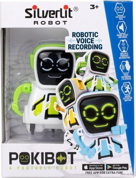 """Робот """"Pokibot"""" (зелёный; со световыми и звуковыми эффектами) — фото, картинка"""