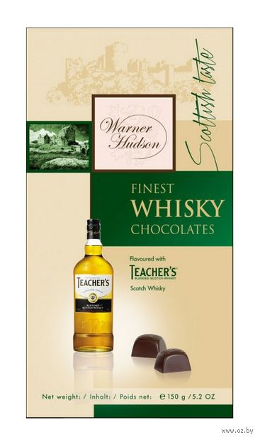 "Конфеты ""Warner Hudson. Finest Whisky"" (150 г) — фото, картинка"